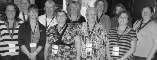 My Geneablogger Friends and Me at Congress 2012