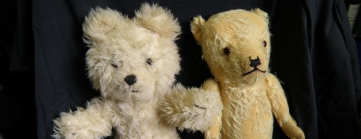 Family History Through the Alphabet Challenge: T is for  Teddy Bears