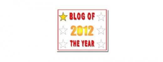 My Blog of the Year 2012 Award
