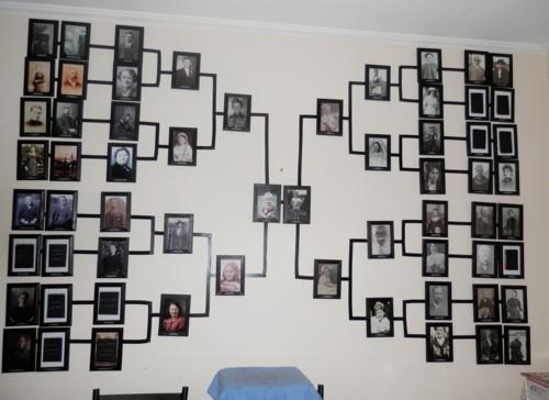 Family Tree Photo Wall