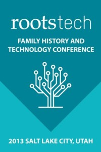 logo - RootsTech 2013