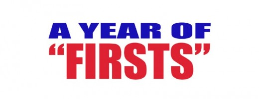 2013, A Year of Firsts